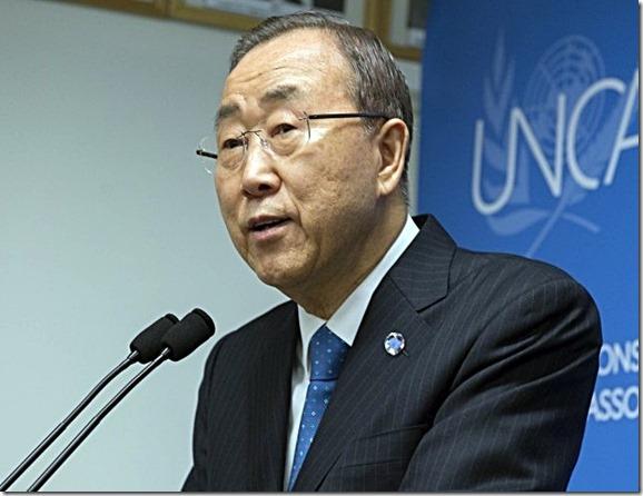 UN Gen Sec Ban Ki-moon