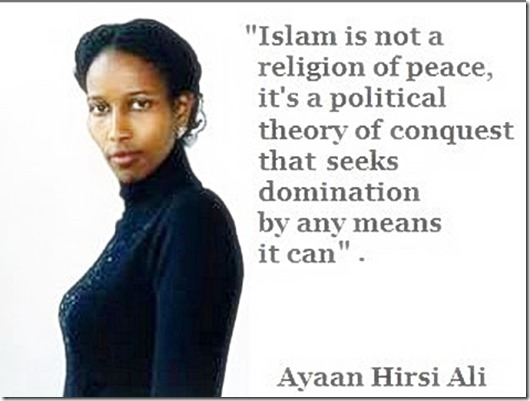 Ayaan Hirsi Ali quote on true Islam