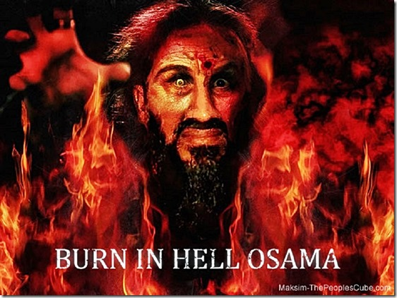 Bin Laden in Hell 2