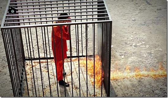 ISIS Torches Jordanian Pilot