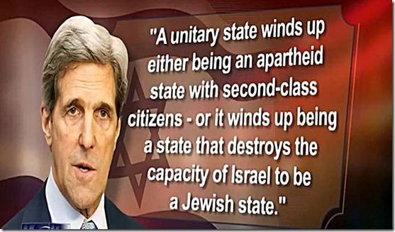 J. Kerry-Israel Apartheid State w-o Palestine