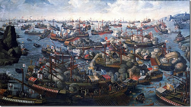 Battle of Lepanto 1571 3