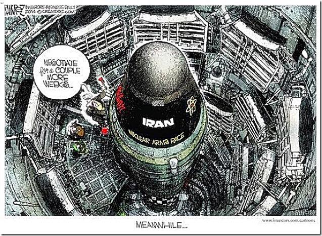 Iran Nuke Missile toon