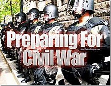 Jack Boots Preparing for Civil War