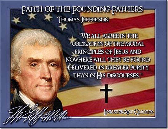 Jefferson- Moral Principles of Jesus