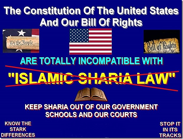 Keep Sharia out U.S.