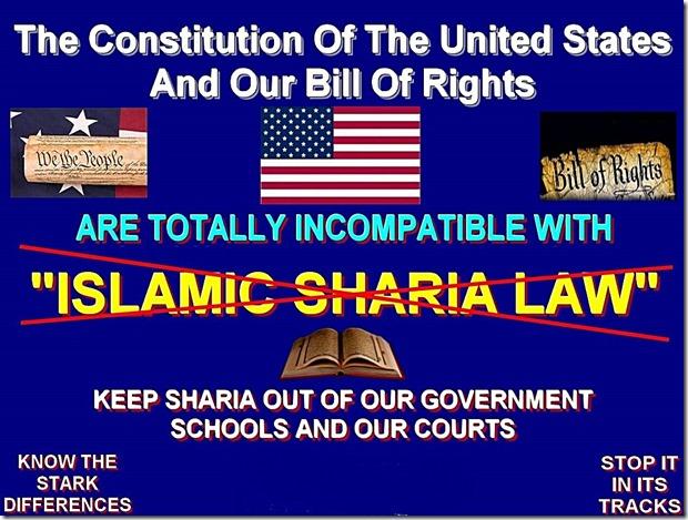 Keep Sharia out U.S.