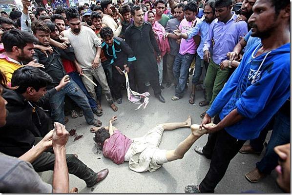Muslim murdered by enraged Christians 3-15-15