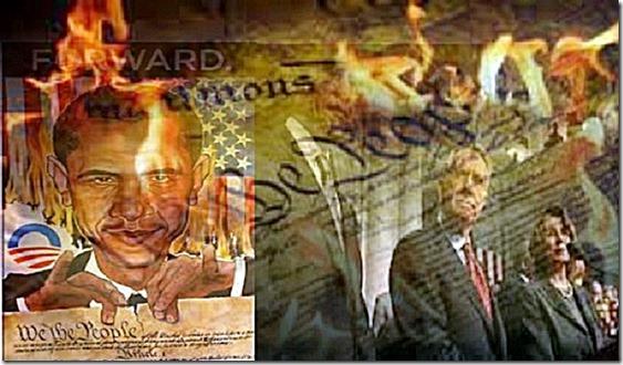Obama-Leftists Destroying Constitution
