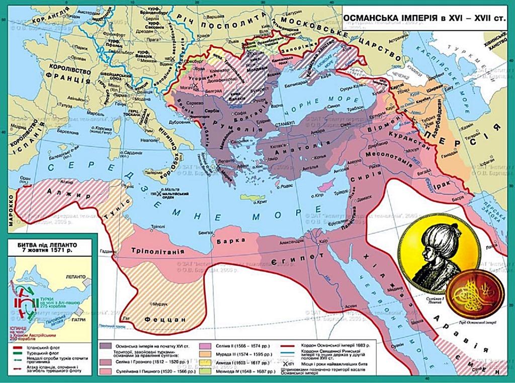 османская империя в 17-18 века кратко отчаянных