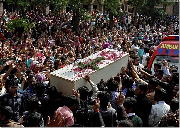 Pakistan-Christian victim of homicidal suicide