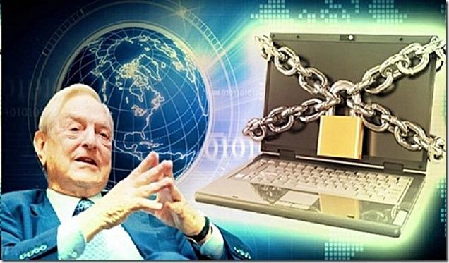 Soros Locks Internet