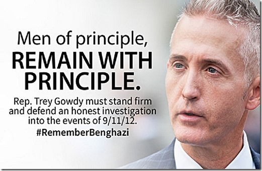 Trey Gowdy - Remember Benghazi