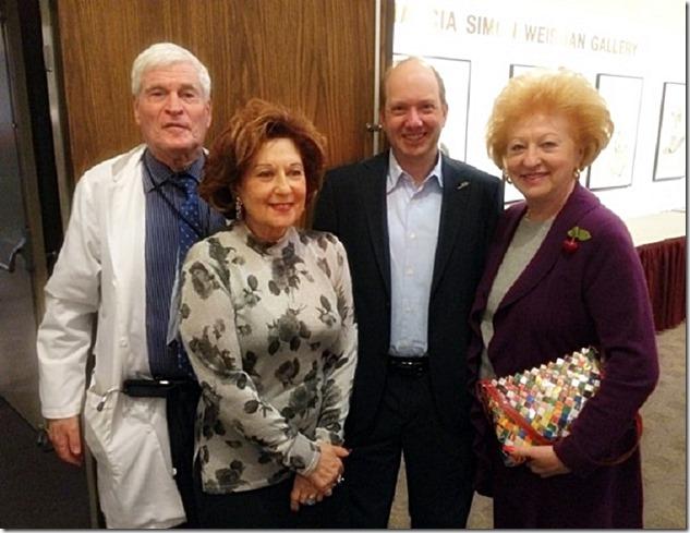 Dr. Charuzi, Esther Blau, E. Randol Schoenberg & Susanne Reyto