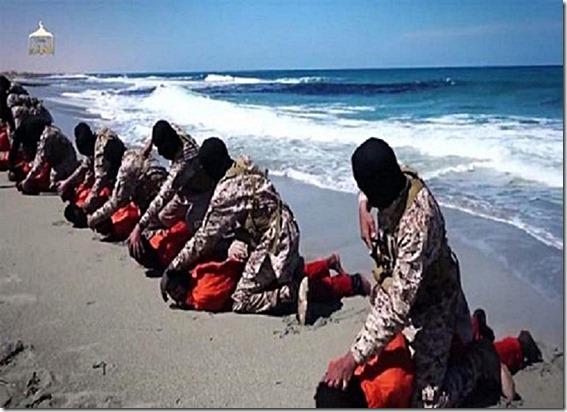 ISIS Beheading Ethiopian Christians Libyan Coast