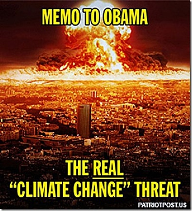 Memo to BHO Nukes real Climate Threat foto