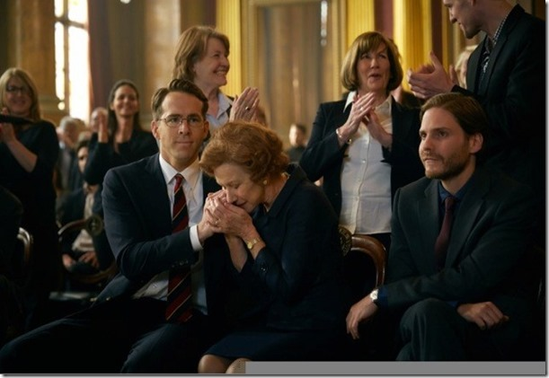 Ryan Reynolds, Helen Mirren and Daniel Brühl (Hubertus Czernin)