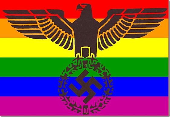 Obama-Gay-Fascist NWO Flag