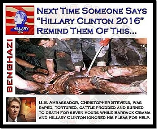 Remind Hillary Supporter Benghazi