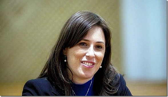 Tzipi Hotovely. Israel Deputy FM