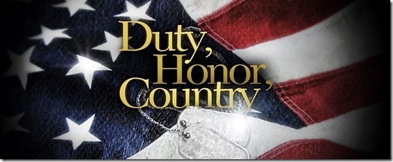 U.S.- Duty, Honor, Country
