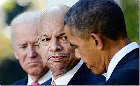 VP Biden, Jeh Johnson & BHO