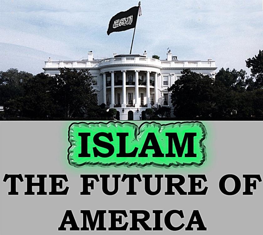White House Future- Radical Islam flag