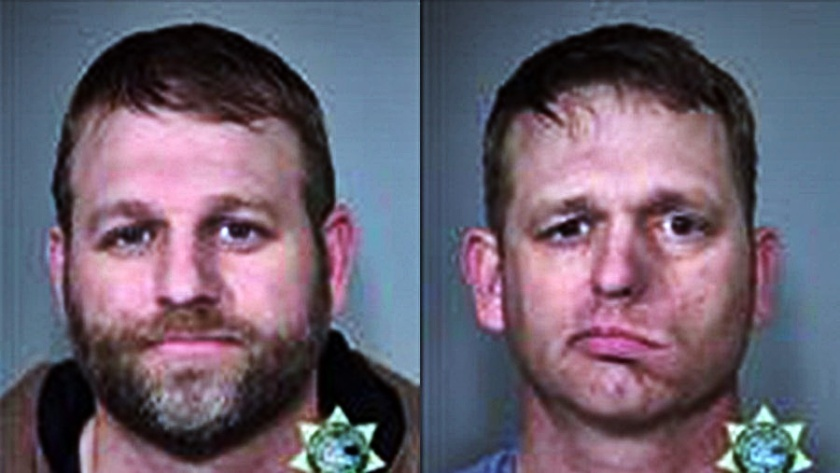 Ammon & Ryan Bundy mugshot 1-27-16 Multnomah Co, OR