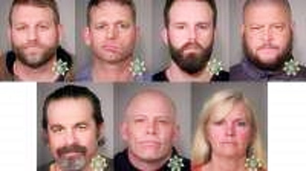 Mugshots of Bundy Group 1-27-16