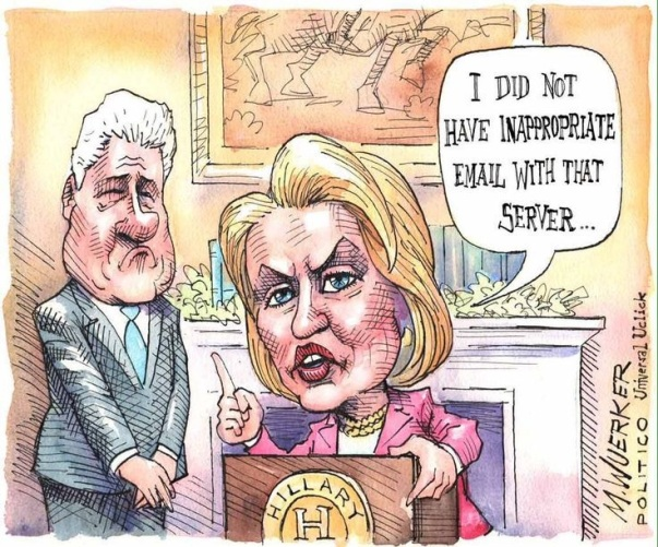 Hillary- No inappropiate Relations Server