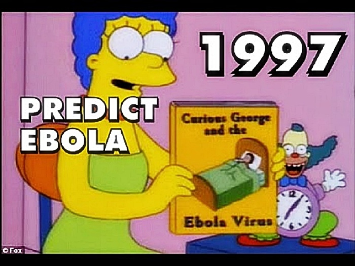 Marge Simpson Predicts Ebola