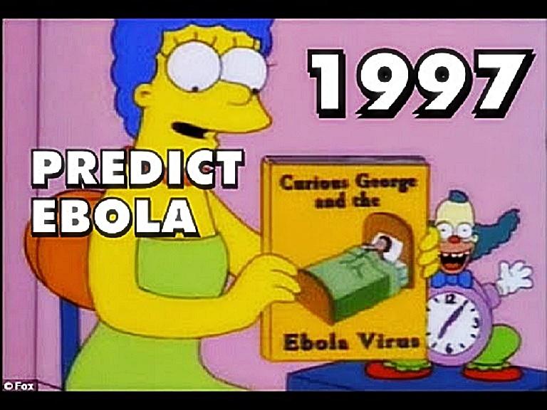 Marge Simpson Predicts Ebola