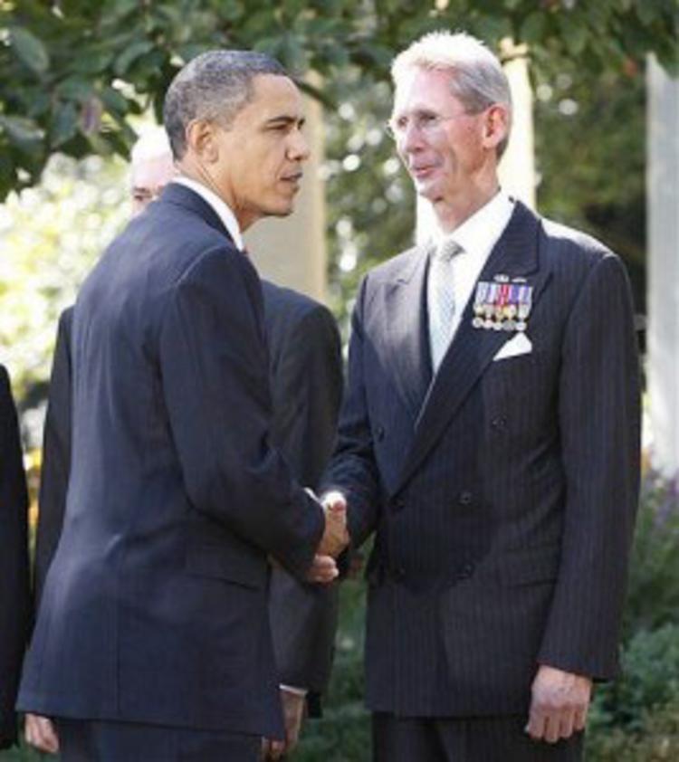 Obama & John Poindexter -Ranch owner Scalia's death