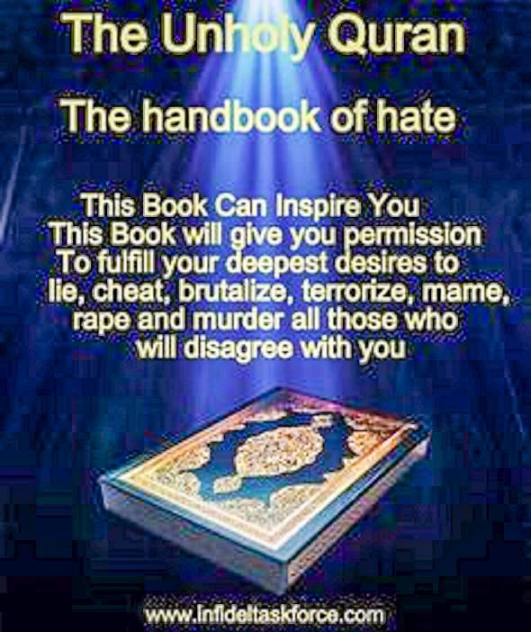 Unholy Quran handbook of hate