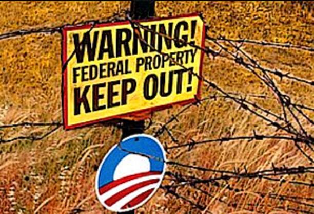Warning Fed Property - BHO