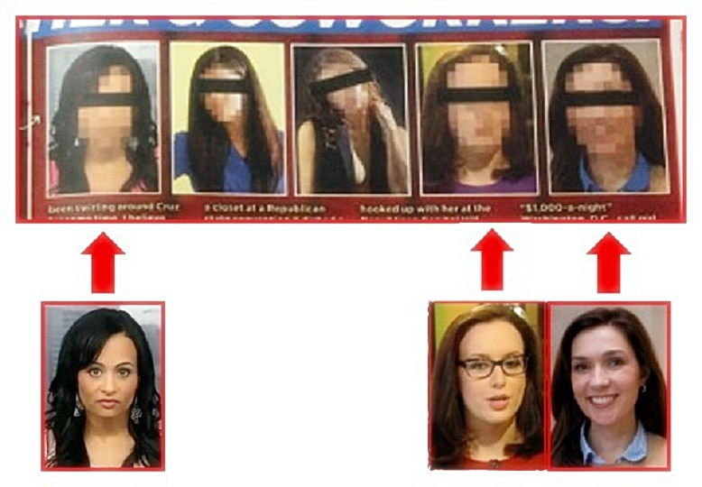 3 of 5 Cruz Mistresses Revealed