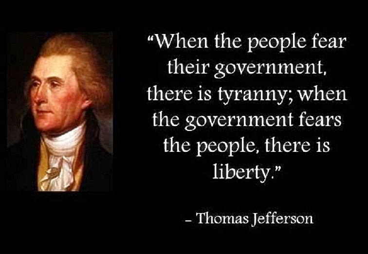 Jefferson on Tyranny & Liberty