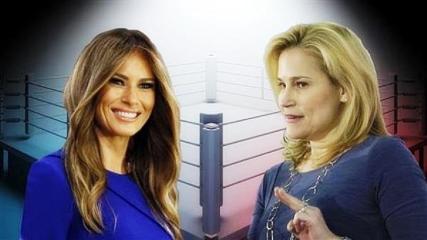 Melania Trump & Heidi Cruz