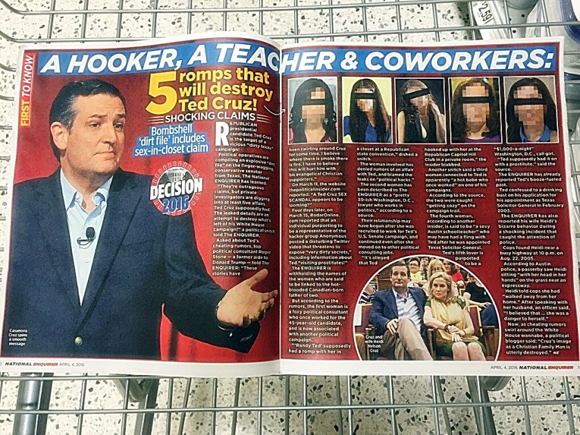 Natl Enquire Cruz Affairs photo