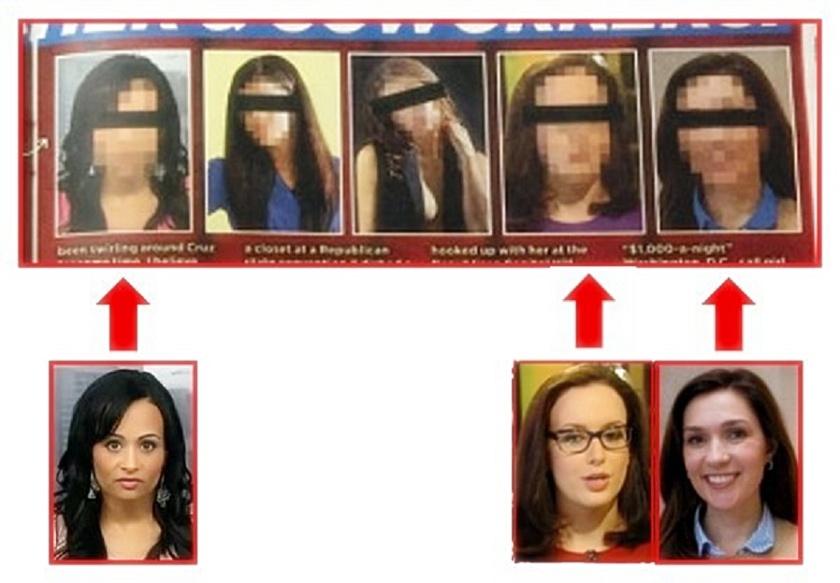 Natl Enquirer Accused Cruz Mistresses
