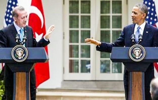 Recep Tayyip Erdogan & BHO in Washington