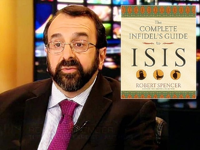 Robert Spencer promoting ISIS book