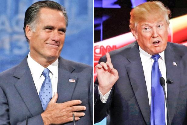 Romney - Trump