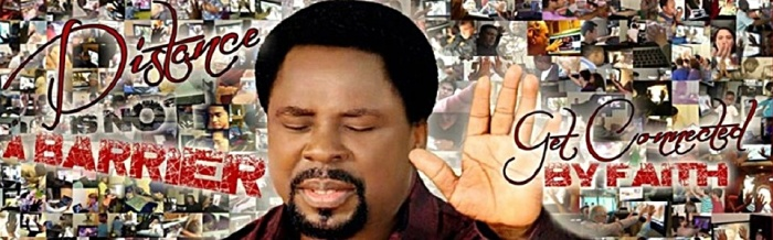 TB Joshua promotional photo