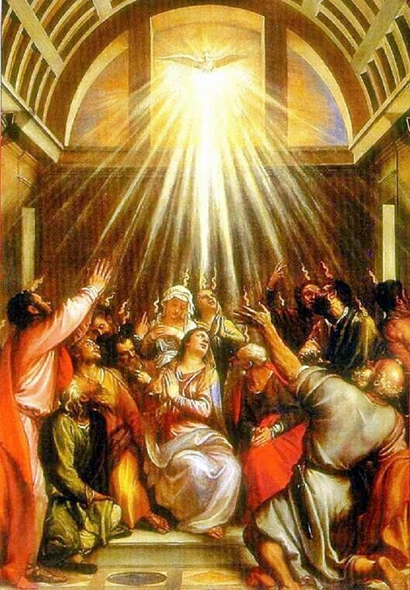 1st Pentecost in Upper Room