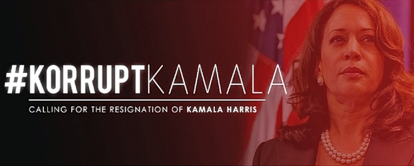 Korrupt-KamalaHarris banner