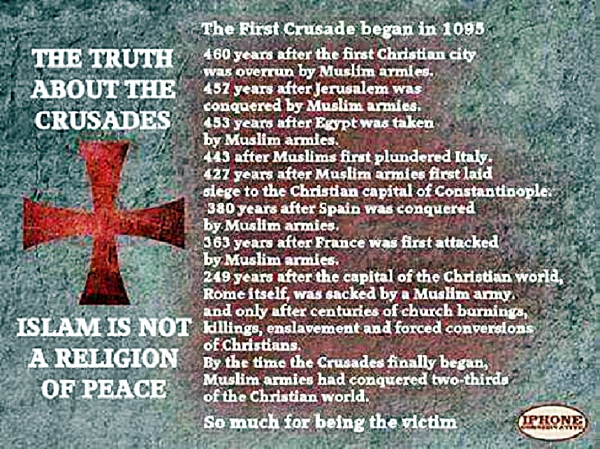 Crusades - Perhaps You Deliver This Judgement With Greater Fear Than I Receive It