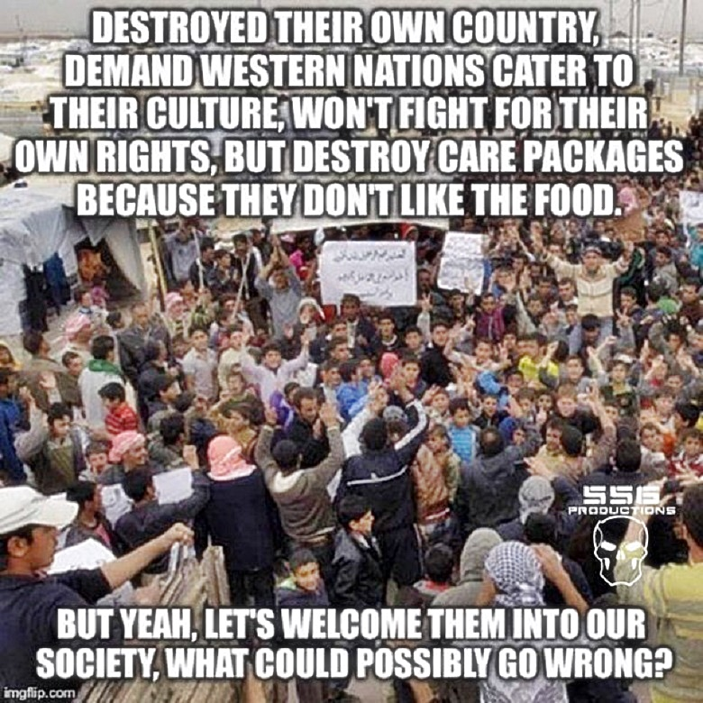 What go wrong Muslim Refugees -REALLY