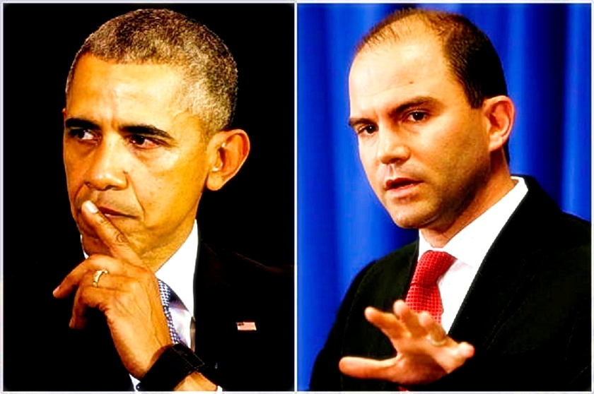 Deputy U.S. national security adviser Ben Rhodes speaks during a press briefing on Martha's Vineyard, Massachusetts as U.S. Barack Obama continues his vacation on the island August 22, 2014.  REUTERS/Kevin Lamarque  (UNITED STATES - Tags: POLITICS) - RTR43E8A