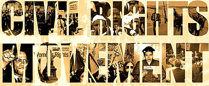 Civil Rights Movement banner